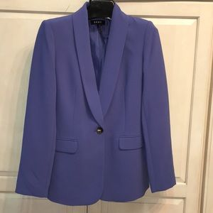 DKNY one-button purple Ladies Blazer size 2